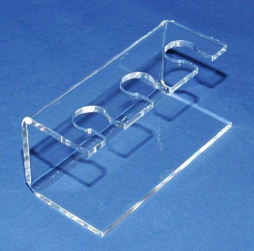 2 Stück Stempelhalter aus Acrylglas für 3 Stempel