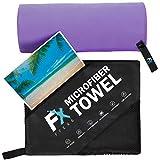 FX FFEXS Microfiber Towel Ultra Violet Large