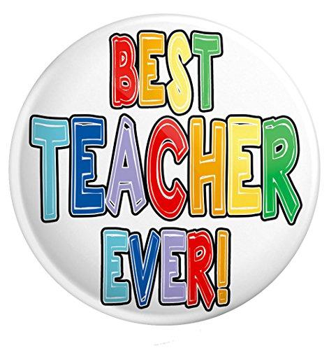 Anstecknadel für Lehrer, großes Geschenk - Dankeschön - Best Teacher Ever