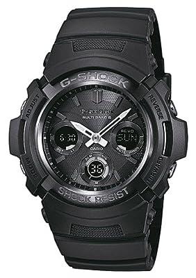 Reloj Casio AWG-M100B-1AER y digital de cuarzo para hombre con correa de resina, color negro de Casio