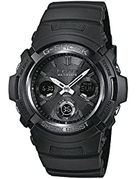 Casio Herren-Armbanduhr XL G-SHOCK Analog - Digital Resin AWG-M100B-1AER