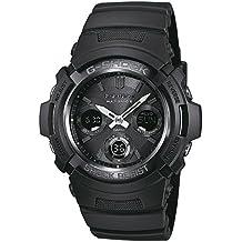 Casio G-Shock – Reloj Hombre Analógico/Digital con Correa de Resina – AWG-M100B-1AER