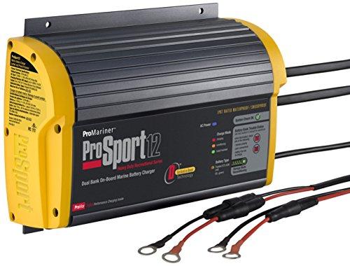 Trolling-motor-batterie-ladegeräte (PROMARINER 43012; PROSPORT 1212Amp, 12/24Volt, 2Bank Generation 3Akku Ladegerät)