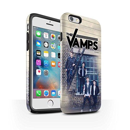 Offiziell The Vamps Hülle / Glanz Harten Stoßfest Case für Apple iPhone 6S+/Plus / Pack 6pcs Muster / The Vamps Fotoshoot Kollektion Tagebuch