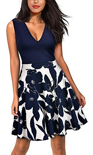 Sommerkleid elegant blumen
