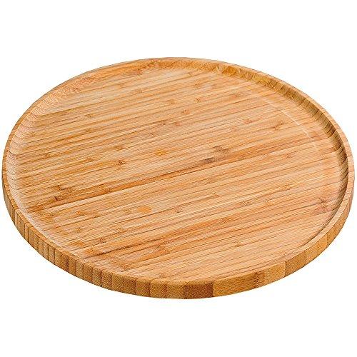 Kesper 58463 Pizzateller aus Bambus, 32 cm