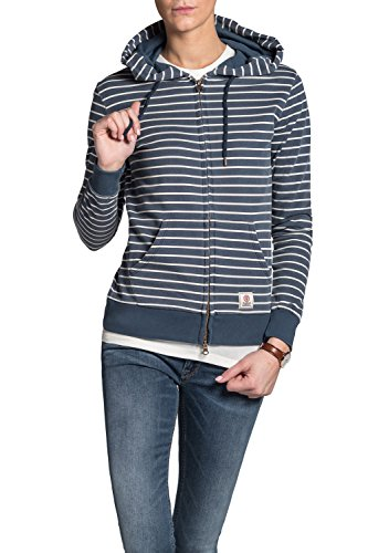 Franklin & Marshall - Sweatshirt FLWAL590ANW16 für frau, gestreift muster, kapuze (Kapuze Franklin)