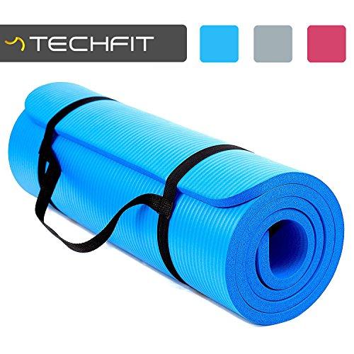 TECHFIT Tapis de Yoga et Fitness, Extra Epais 15mm, 180 x 60...