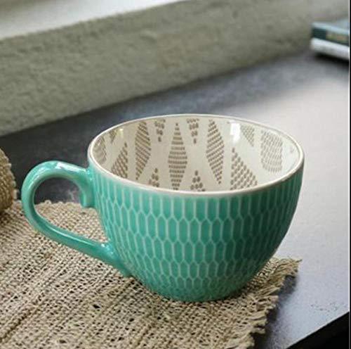 MugDisne qecdp* Teetassen Gedruckte Keramikbecher Kinder Kaufhaus kreative Isolierung Milch Kaffeetasse 300-400ml