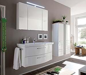 Pelipal Solitaire 6005argona 3pièces ensemble Meubles de salle de bain/lavabo/meuble de rangement/AG SPS 01
