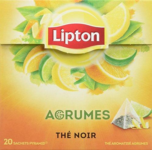 Lipton Thé Agrumes 60 Sachets