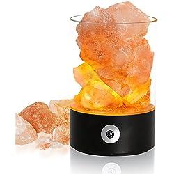 Himalaya Salz Lampen,Deko Lampen,Romantik Deko Schlafzimmer,CE ROSH FCC zertifiziert,Beste Geschenke