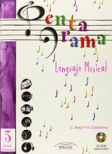 Pentagrama Lenguaje Musical: Pentagrama III Lenguaje Musical Elemental: 3 (Pentagrama Lenguaje Musical 3)