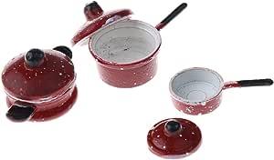 Vektenxi 1//6 1//12 Miniatur Milchflasche Korb Puppenhaus Zubeh/ör Pretend Play Toy Kreativ und n/ützlich