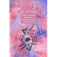 I Am Limitless: Sketchbook for Artist ~ Funky Novelty Gift for Art Lovers, Small Blank Sketch Book
