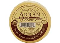 Island Cheese Company Waxed Truckle of Cheddar Cheese with Arran Malt Whisky by Island Cheese Company