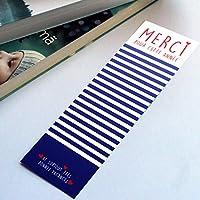 """Marque page""""Merci"""" impression recto/verso - cadeaux maîtresse, maître, nounou, atsem, crèche"""