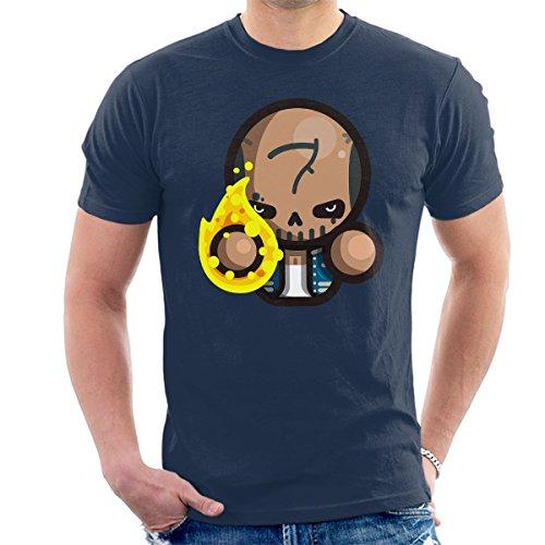 Simpler Diablo Suicide Squad Men's T-Shirt Navy Blue