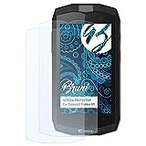 Bruni Protecteur d'écran pour Crosscall Trekker M1 Film Protecteur - 2 x Cristal Clair Film Protection d'écran