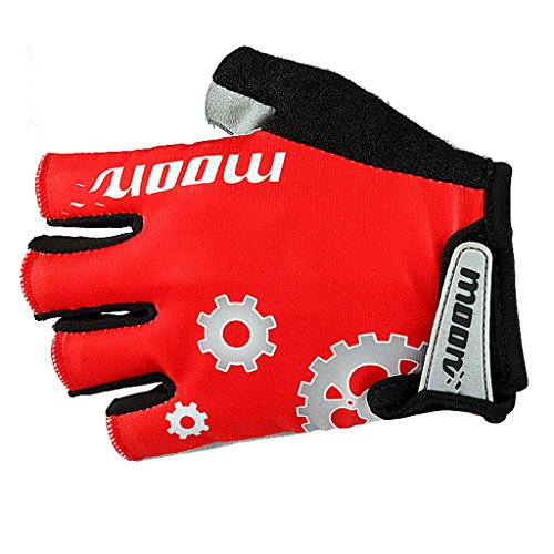Ultra Light Weight -Datechip Cycling Bike Gloves Fingerless - Gel Pad Half Finger Glove For Mountain Bike Road Biking Climbing Bicycle Sports Gloves- Comfortable , Lightweight , Breathable