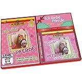 Ich liebe Pferde - 2-teiliges Kinder-Geschenkset - DVD: Alles über Pferde + CD: Die schönsten Pferdesongs