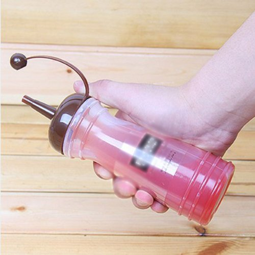 HUAYANGKetchupGewürzSauceSenfölSaisonFarbeSqueeze Flasche340ml(zufällige Farbe: 1Stück) (20 Squeeze-flasche Unzen)