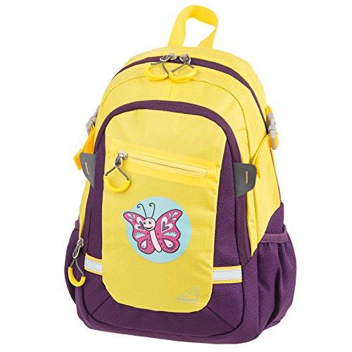 SCHNEIDERS Vienna Kinderrucksack Kindergartenrucksack Kindertasche Kids Backpack - Junge/MÄDCHEN - mit niedlichen Motiven (Little Butterfly) - 49446-020