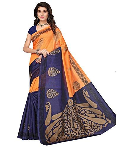 Indira Designer Women's Art Kota Cotton Blaned With Blouse Saree (MORE THAN...