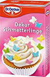 Dr.Oetker - Dekor Schmetterlinge - 60g