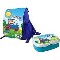 Mein Zwergenland Set 1 Kindergartenrucksack und Brotdose Variant mit Namen, 2-teilig preisvergleich bei kinderzimmerdekopreise.eu