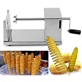 FWQPRA Manual Stainless Steel Twisted Potato Slicer Spiral