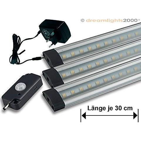 'LED da incasso Leuchten Set di 3FL30PIR