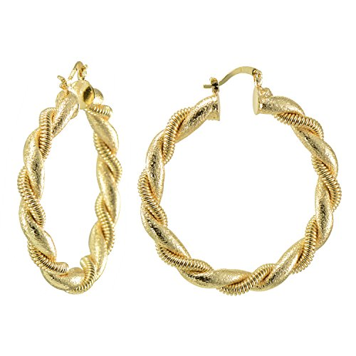 14k-yellow-gold-flashed-rope-twisted-creole-hoop-earrings-2-inches-dia
