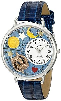 Whirlpool WHIMS-U1810009 - Reloj de cuarzo para hombre, correa de cuero multicolor de Whirlpool