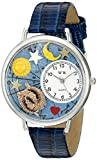 Whimsical Watches Unisex U1810009 Pisces Royal Blue Leather Watch best price on Amazon @ Rs. 1164