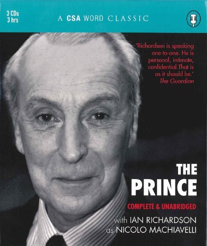 The Prince (A CSA Word Classic) by Nicolo Machiavelli (2008-08-01)