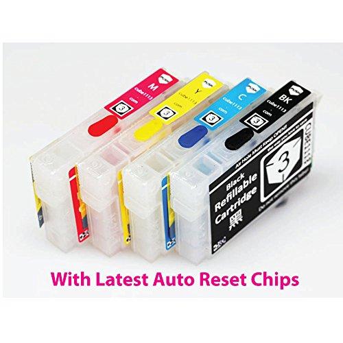 Oyat® 4x T2991 29XL T2994 rechargeables et vides Cartouches d'encre Compatible pour Epson XP235 XP245 XP247 XP332 XP335 XP342 XP345 XP432 XP435 XP442 XP445