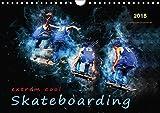 Skateboarding - extrem cool (Wandkalender 2018 DIN A4 quer): Skateboarding, Trendsportart mit Kultstatus. (Monatskalender, 14 Seiten ) (CALVENDO Sport) [Kalender] [Apr 01, 2017] Roder, Peter