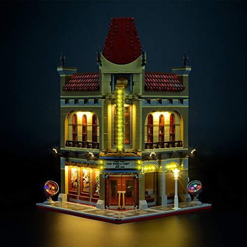 LIGHTAILING Conjunto de Luces (Creator Palace Cinema) Modelo de Construcción de Bloques - Kit de luz LED Compatible con Lego 10232 (NO Incluido en el Modelo)