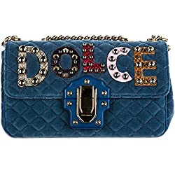 Dolce&Gabbana bolsos con asas largas para compras mujer nuevo lucia blu