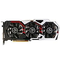 KKmoon Colorful NVIDIA GeForce GTX iGame 1060 Grafikkarte 6 GB 192bit Gaming GDDR5 PCI-E X16 3,0 VR Bereit Video Grafikkarte DVI + HDMI + 3 * DP Port mit Drei Lüfter