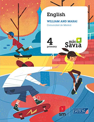 English for Plurilingual Schools. 4 Primary. Más Savia. Madrid