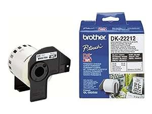 Brother DK-22212 - Étiquettes - blanc - Rouleau (6,2 cm x 15,2 m)