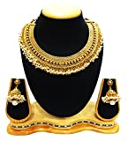 SatyamJewelleryNx Traditional Pearl Neck...
