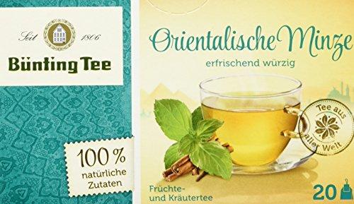 Bünting Tee Orientalische Minze 20 x 1.8 g Beutel, 12er Pack (12 x 36 g)