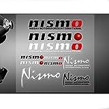 Encell PVC-Adesivo per auto, Emblema Nismo logo Nissan