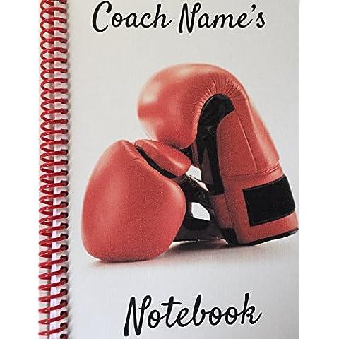 Boxing COACH–Personalizzabile NOTEBOOK