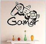 Bomeautify Spielmaschine GAMER kreativ handgemachte Hintergrundwand Paste Papier 57 * 43cm