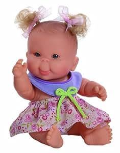 Paola Reina - 01111 - Mini-Poupée - Petite Fille Europe - Collection les Pèques - Eté - 22 cm