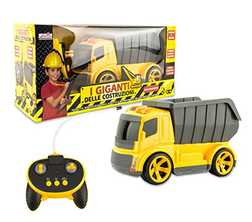 MEDIA WAVE store  120455 Camión o hormiguera de Juguete con Radio Control con Luces y Sonidos - Camión